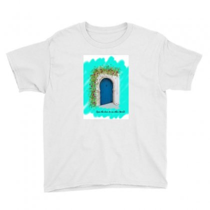 Typical Door 1 Youth Tee Designed By Butterfly
