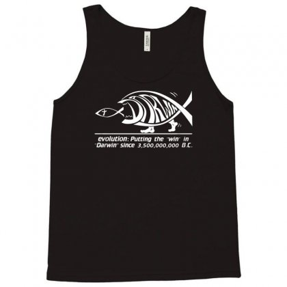Darwin Evolution Tank Top Designed By Ismi