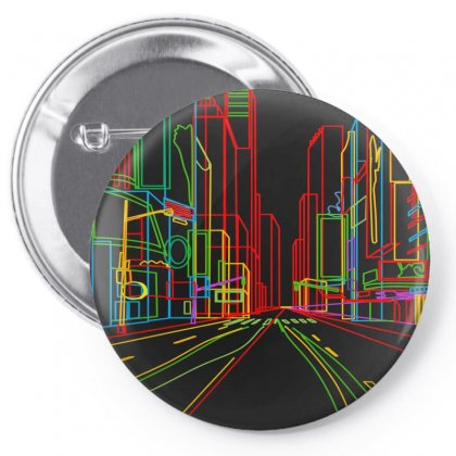 Linebox City Pin-back Button Designed By Jungjungahn