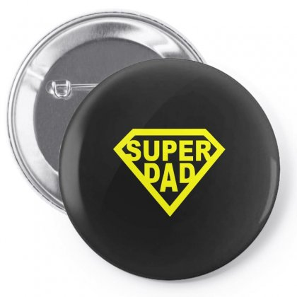 Super Dad Pin-back Button Designed By Teeshop