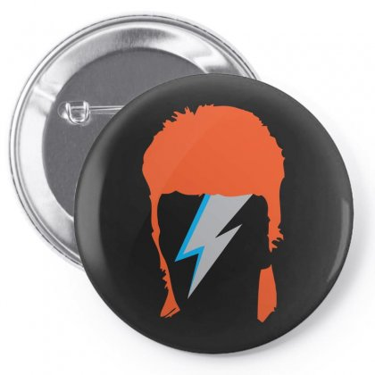 David Bowie Ziggy Pin-back Button Designed By Funtee