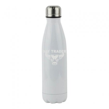 Day Trader Stainless Steel Water Bottle Designed By Funtee