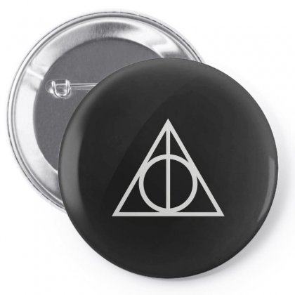 Deathly Hallows Pin-back Button Designed By Funtee