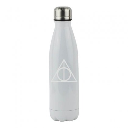 Deathly Hallows Stainless Steel Water Bottle Designed By Funtee
