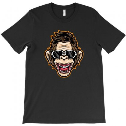 Funny Monkey T-shirt Designed By Disgus_thing