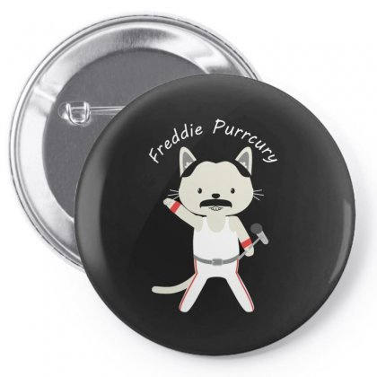 Freddie Cat Pin-back Button Designed By Disgus_thing