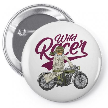 Wild Racer Pin-back Button Designed By Disgus_thing
