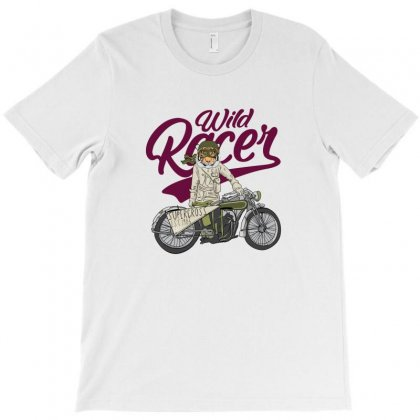 Wild Racer T-shirt Designed By Disgus_thing