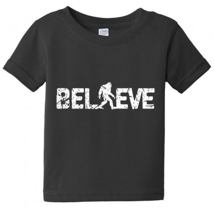 Believe Baby Tee Designed By Disgus_thing