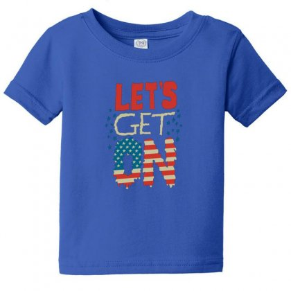 Usa Baby Tee Designed By Disgus_thing