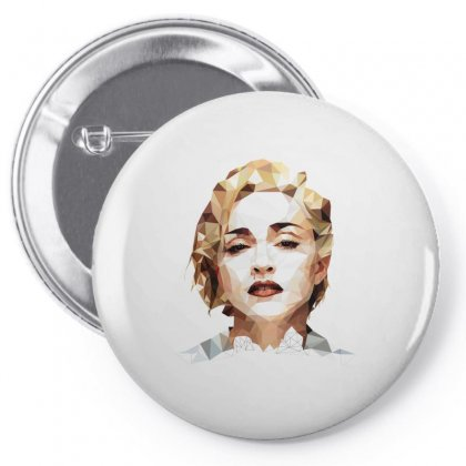 Madonna Pin-back Button Designed By Vanitty