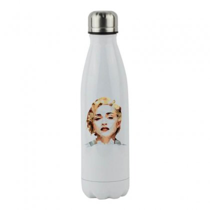 Madonna Stainless Steel Water Bottle Designed By Vanitty