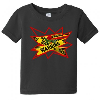 Warning Tee Baby Tee Designed By Stonerchick246