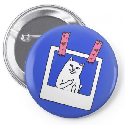 Cute And Funny Dipnrip Lord Nermal , Cute Funny Cat , Finger Cat Pin-back Button Designed By Leila.mounia