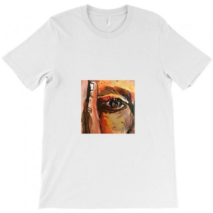 Corner Face Painting T-shirt Designed By A M A N I  A R T