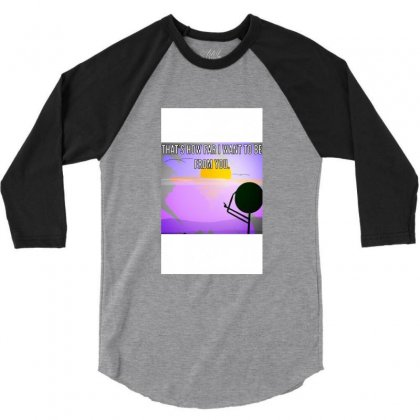 Distance 3/4 Sleeve Shirt Designed By Wisline