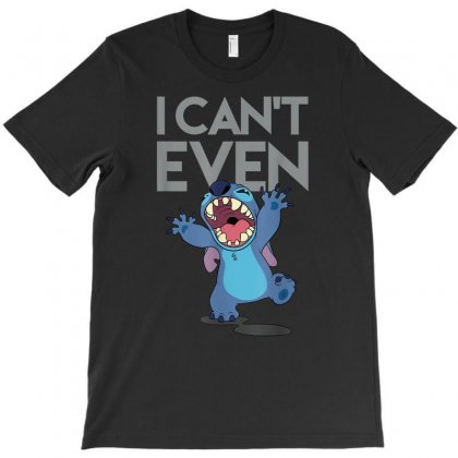 Lilo And Stitch T-shirt Designed By Vanitty