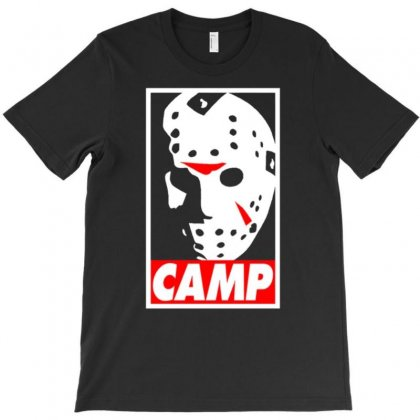 Camp Jason Voorhees T-shirt Designed By Amber Petty