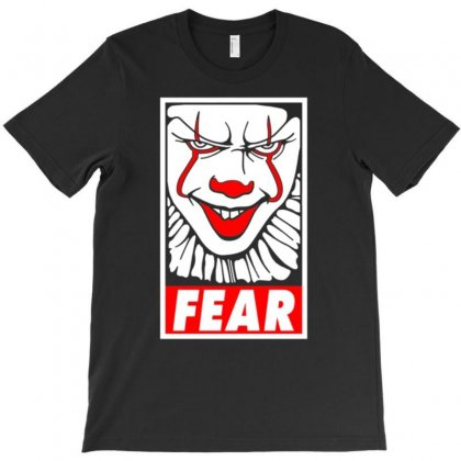 Fear Pennywise T-shirt Designed By Amber Petty