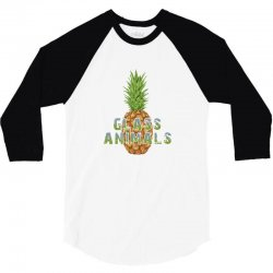 glass animals 3/4 Sleeve Shirt | Artistshot