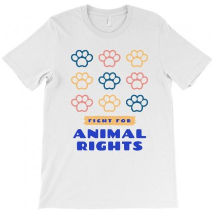Animal Right T-shirt Designed By Cogentprint