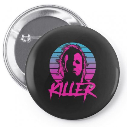 Halloween Killer Pin-back Button Designed By Vanitty
