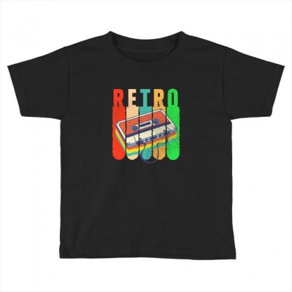Retro Toddler T-shirt Designed By Neset