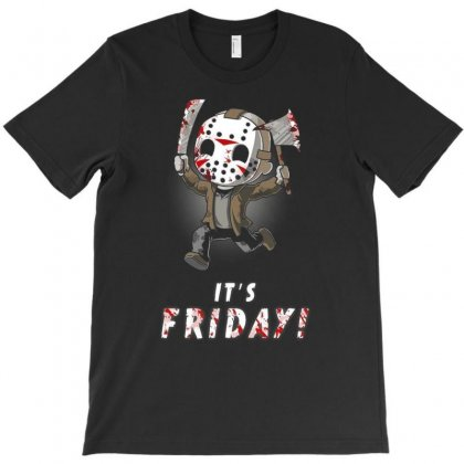 It's Friday T-shirt Designed By Vanitty