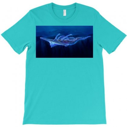 Subnautica   Ghost Leviathan T-shirt Designed By Badprisoner05