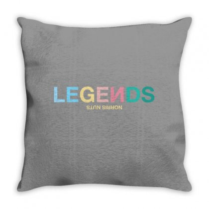 Legends Norris Nuts For Light Throw Pillow Designed By Zeynepu
