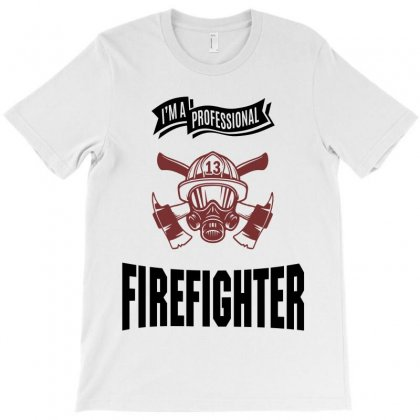 Firefighter T-shirt Designed By Chris Ceconello