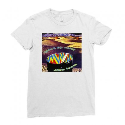 Guided By Voices Alien Lanes Ladies Fitted T-shirt Designed By Teeshop