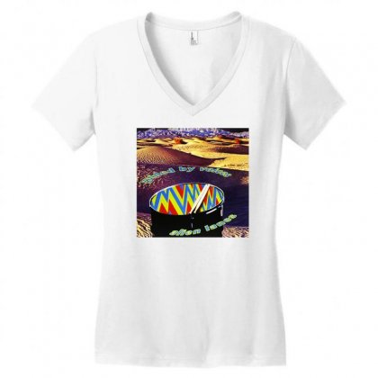 Guided By Voices Alien Lanes Women's V-neck T-shirt Designed By Teeshop