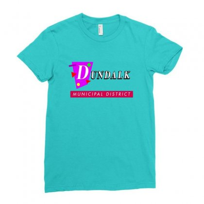 Dundalk Municipal District Ladies Fitted T-shirt Designed By Oktaviany
