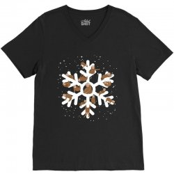 Sloths  animals in Christmas Snowflakes Christmas Gift V-Neck Tee | Artistshot