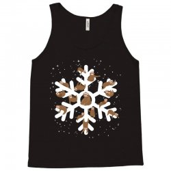 Sloths  animals in Christmas Snowflakes Christmas Gift Tank Top | Artistshot