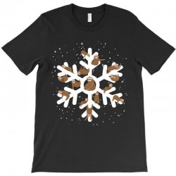 Sloths  animals in Christmas Snowflakes Christmas Gift T-Shirt | Artistshot