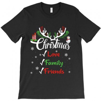 Family Christmas Love Family Friends T-shirt Designed By Hoainv