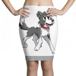 border collie 1457986758qll Pencil Skirts | Artistshot