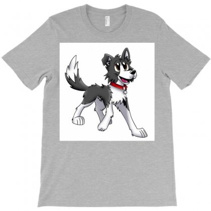 Border Collie 1457986758qll T-shirt Designed By Cduggan