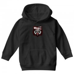 hockey team logo Youth Hoodie | Artistshot