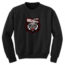 hockey team logo Youth Sweatshirt | Artistshot