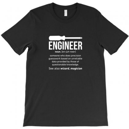 Engineer Funny T-shirt Designed By Ismi