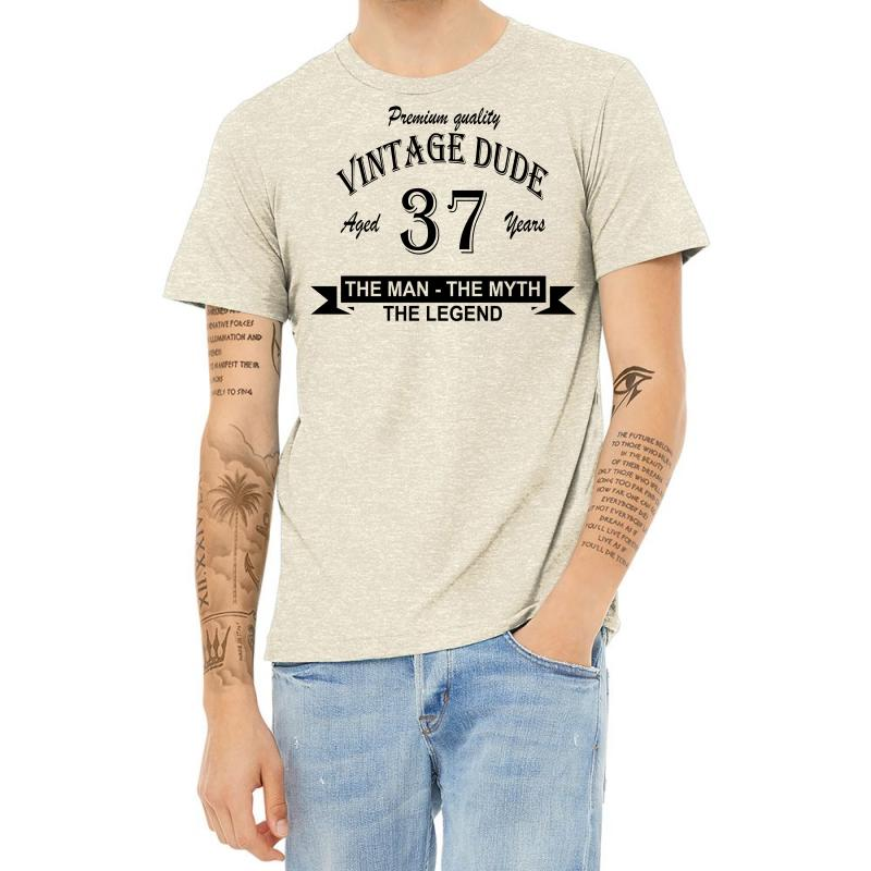 Aged 37 Years Heather T-shirt | Artistshot
