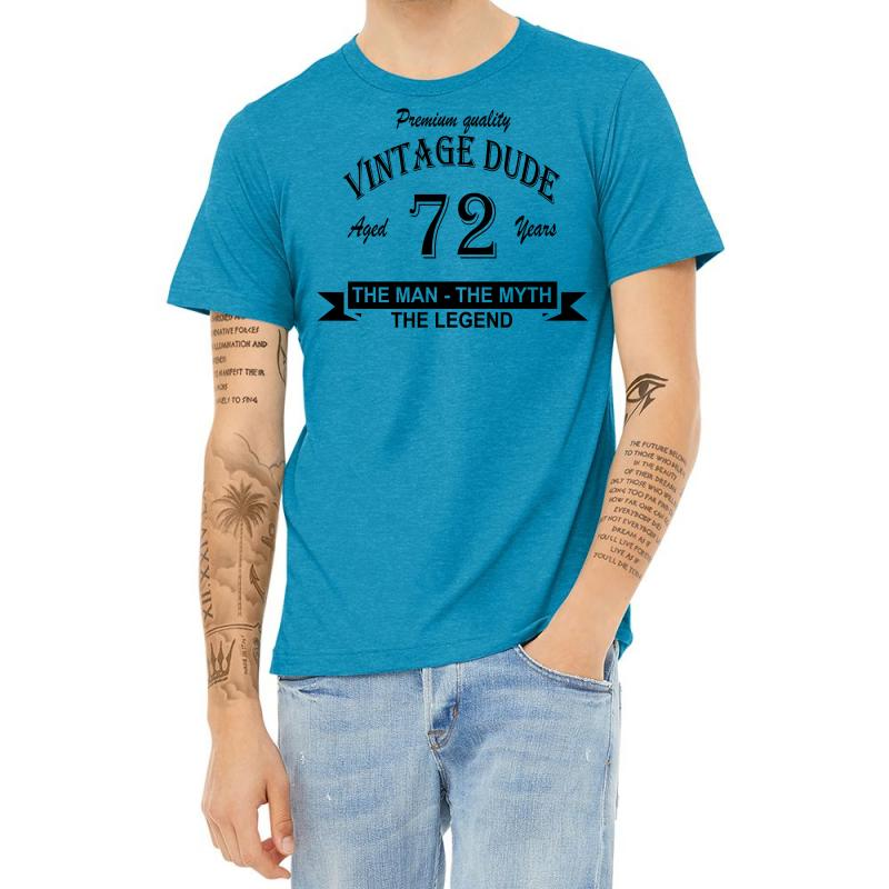 Aged 72 Years Heather T-shirt | Artistshot