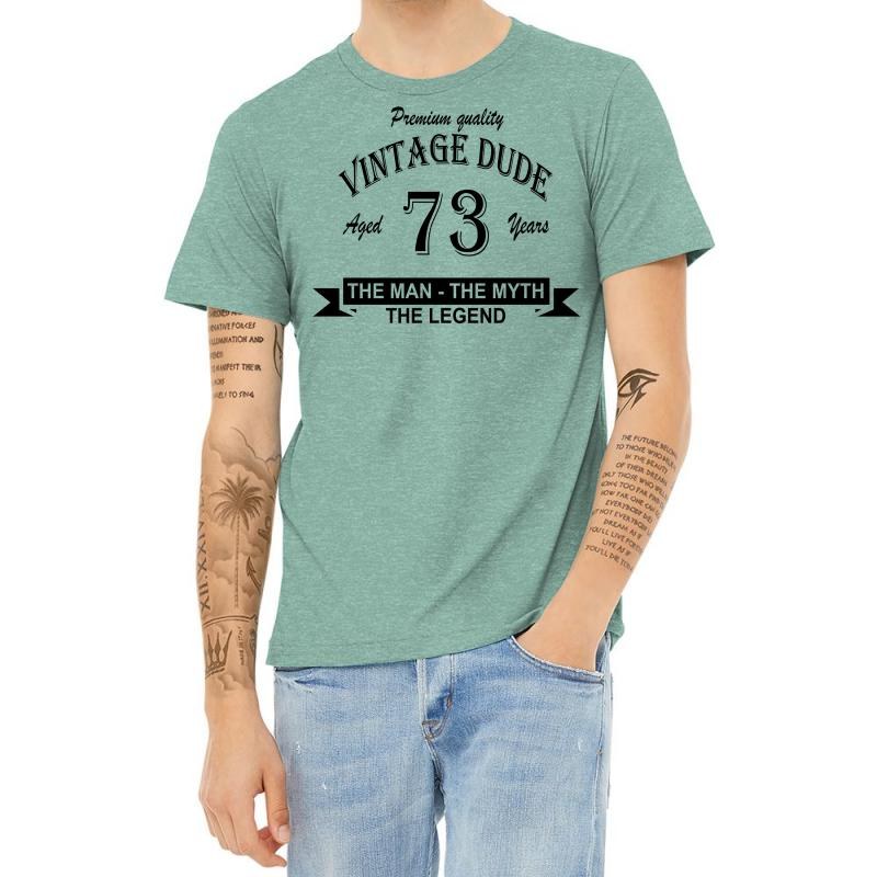 Aged 73 Years Heather T-shirt | Artistshot