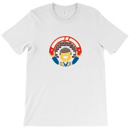 Everything Is Awesome   Mens Funny Lego T-shirt Designed By Ismi