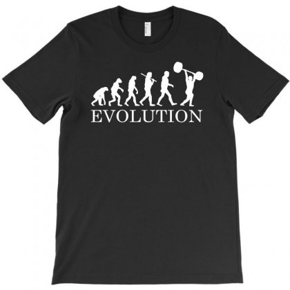Evolution Powerlifting T-shirt Designed By Funtee