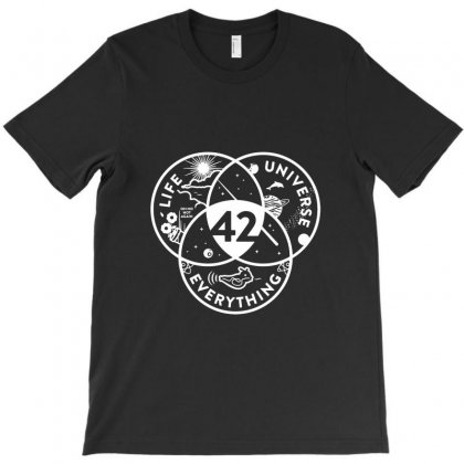 42 The Answer To Life Merch T-shirt Designed By Irwansyahronie