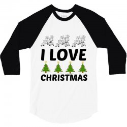 love christmas 3/4 Sleeve Shirt | Artistshot